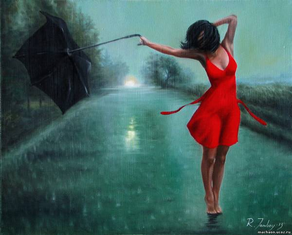 why dance in the rain